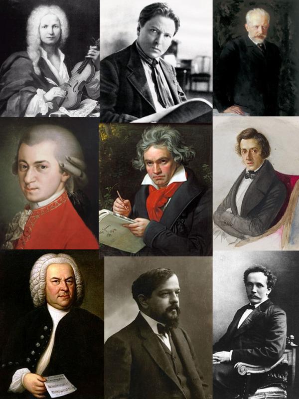 9 compozitori